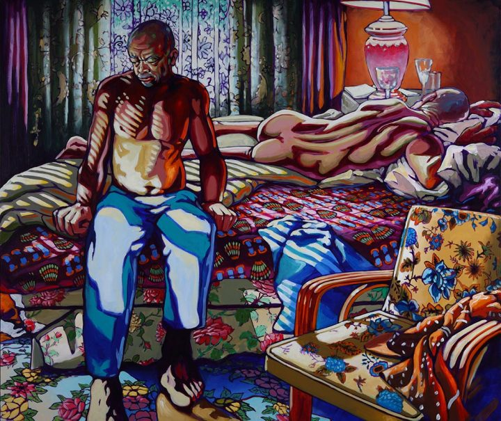 Morning, 2010 Acrylic on canvas, 76 x 90 in