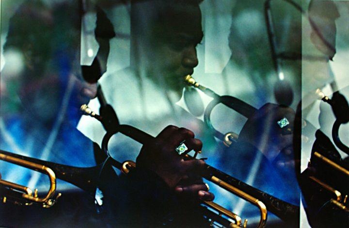 Wallace Roney, Kind of Blue, 1999 C-print from single film negative, 32 x 40 in.